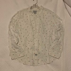 Rails Hearts Patterned Shirt